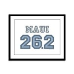 Maui 26.2 Marathoner Framed Panel Print