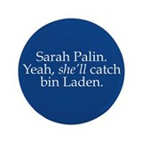 Palin - bin Laden Button