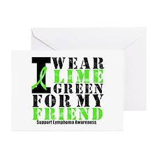 Lymphoma Friend Greeting Cards (Pk of 10)