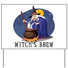 Witch's Brew Yard Sign