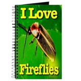 I Love Fireflies Notebook & Journal