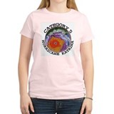 Hurricane Katrina Satelitte Cat 5 Women's Pink T-S