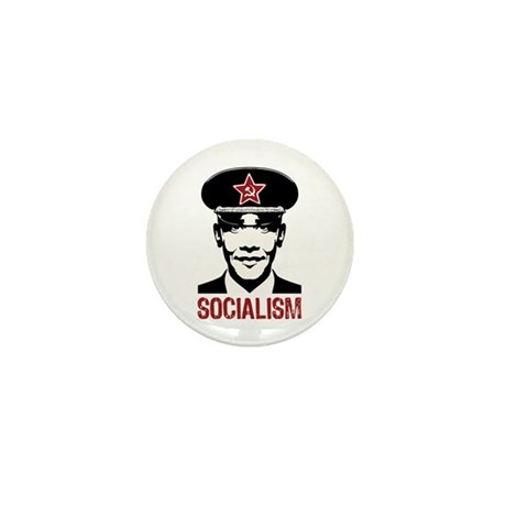 Obama Socialism Mini Button