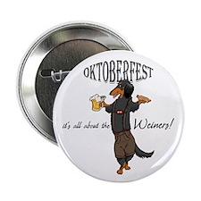 "LHBT Oktoberfest Dachsie 2.25"" Button"