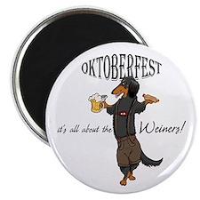 LHBT Oktoberfest Dachsie Magnet