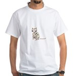Cat White T-Shirt