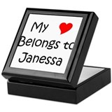 Cool Janessa Keepsake Box