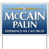 McCain Yard Signs Yard Sign