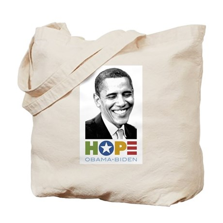 Hopeful Smile Tote Bag