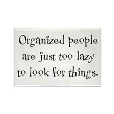 Organized People Rectangle Magnet