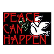 Peace Can Happen Postcards (Package of 8)