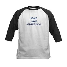 Peace, Love, Striped Bass Tee