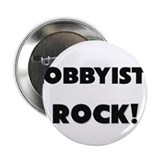 "Lobbyists ROCK 2.25"" Button (10 pack)"