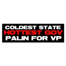 Cold State Hot Gov. Bumper Sticker (10 pk)