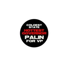 Cold State Hot Gov. Mini Button (100 pack)