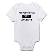 Property of a Anchovy Infant Bodysuit