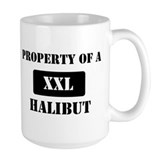 Property of a Halibut Coffee Mug