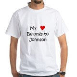 Cute My name is johnson Shirt