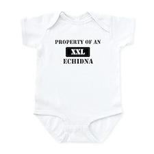 Property of a Echidna Infant Bodysuit