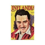 John Gilbert 1931 Rectangle Magnet