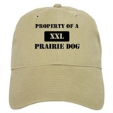 Property of a Prairie Dog Baseball Cap
