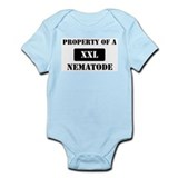 Property of a Nematode Infant Bodysuit