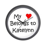 Katelynn Wall Clock