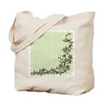 Climbing Vines & Flowers Reusable Tote Bag