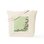 Climbing Vines & Flowers Reusable Tote Bag