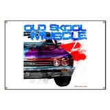 old Skool 67 Chevelle Banner