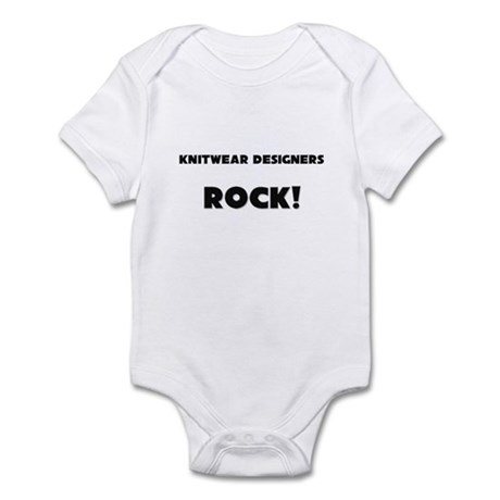 Knitwear Designers ROCK Infant Bodysuit