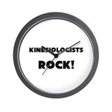 Kinesiologists ROCK Wall Clock