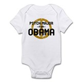 Psych Major for Obama Infant Bodysuit