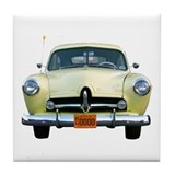 Helaine's Yellow Henry J Tile Coaster