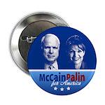 "McCain Palin for America 2.25"" Button"