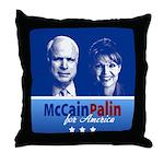 McCain Palin for America Throw Pillow