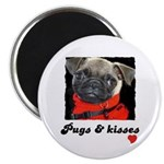 PUGS AND KISSES Magnet