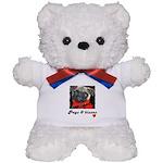 PUGS AND KISSES Teddy Bear