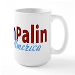 McCain Palin for America Large Mug