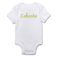 Lakasha in Gold - Infant Bodysuit