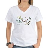 Dragonfly and Flowers Shirt