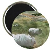 Unique Irish sheep 2.25&quot; Magnet (10 pack)