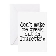 Tourette's Greeting Cards (Pk of 20)