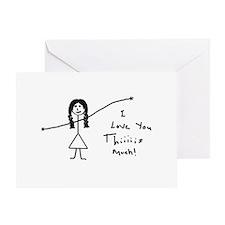 'I Love You' Greeting Card
