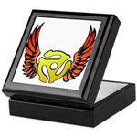 Red Winged 45 RPM Adapter Keepsake Box