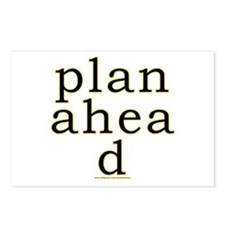 Plan Ahead Joke Postcards (Package of 8)