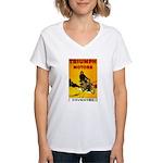 Triumph 1923 Women's V-Neck T-Shirt