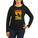 Triumph 1923 Women's Long Sleeve Dark T-Shirt