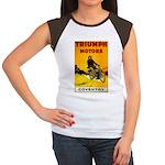 Triumph 1923 Women's Cap Sleeve T-Shirt