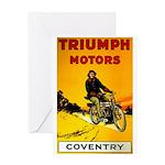 Triumph 1923 Greeting Card